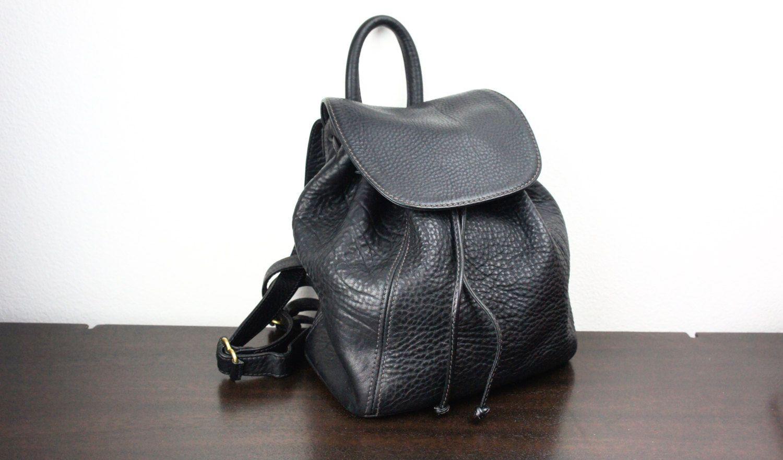 Vintage Coach Backpack Black- Fenix Toulouse Handball 6a8f98a1ae746