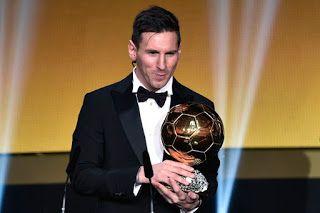 Blog Esportivo do Suíço: Messi ganha Bola de Ouro pela 5ª vez e se isola na história; Neymar é 3º