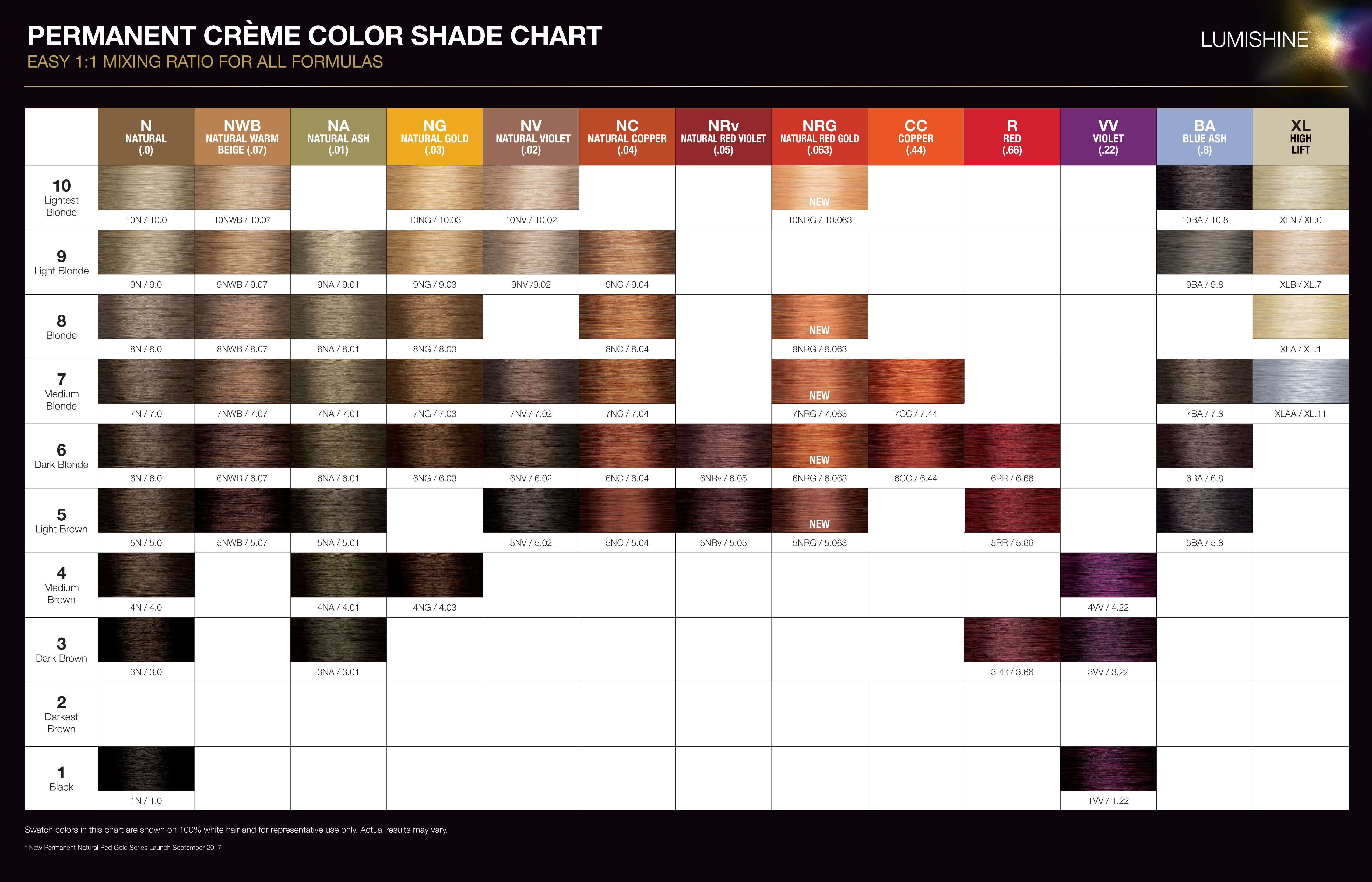 Joico lumishine color chart hairstyle inspirations 2018 joico age defy color chart images free any examples nvjuhfo Image collections