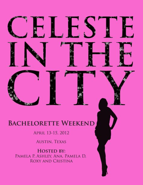 bachelorette party invite sex in the city theme all creations – Party Invite Website