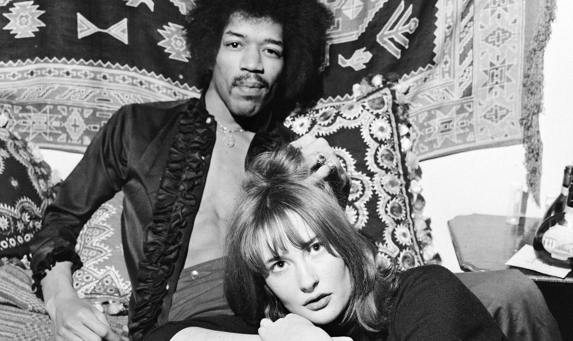 Jimmy Hendrix & Kathy Etchingham