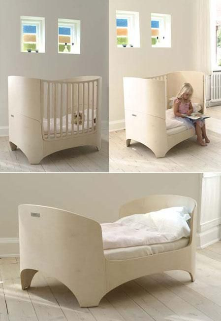 scandinavian nursery furniture. The Leander Baby Crib Is A Fantastic Blend Of Simplicity And Beauty. It Grows Converts With Your Kid! Scandinavian Nursery Furniture