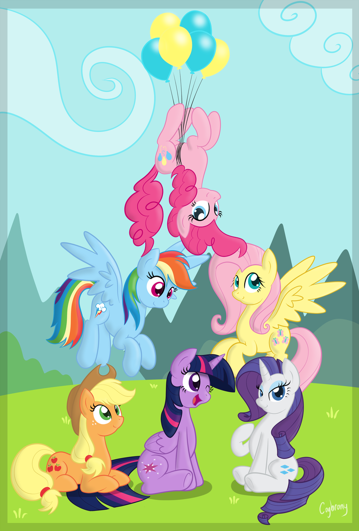 All Together by TheBrokenCOG   pony up   My little pony ...