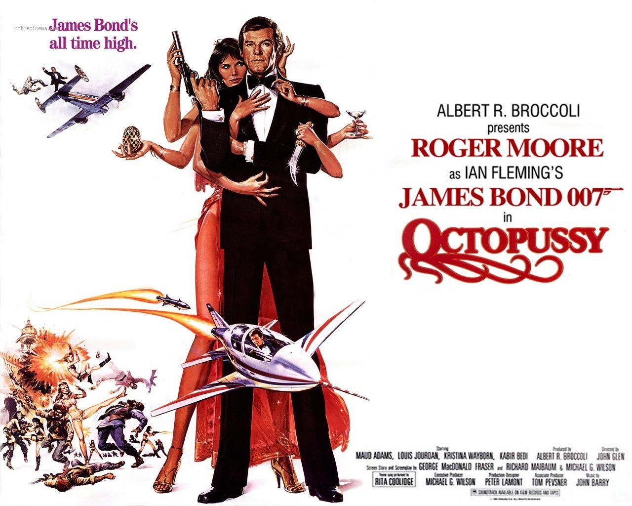 James Bond Octopusi
