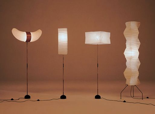 Noguchi Akari Lights Accessories Better Living Through Design Restaurant Design R Amp D