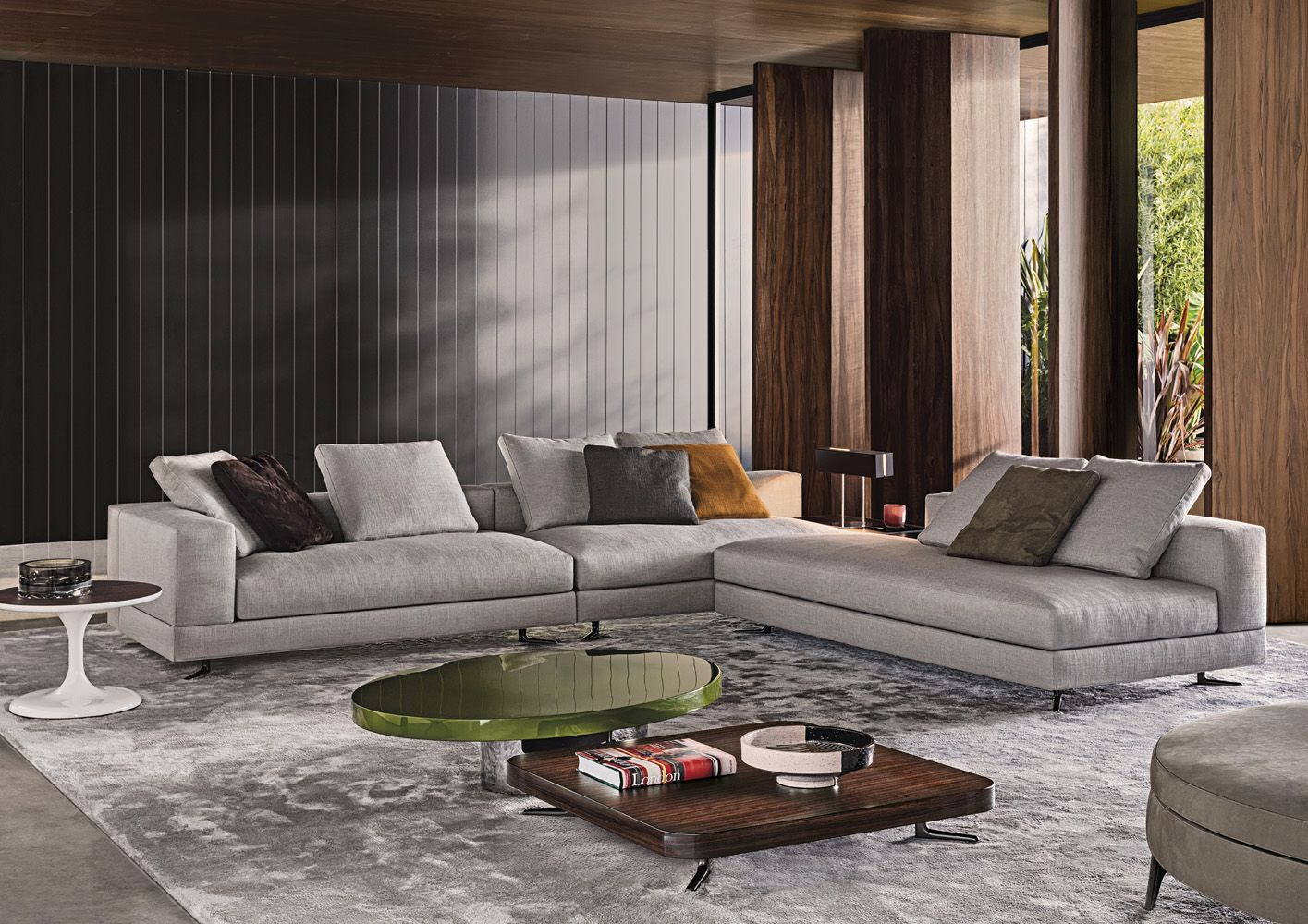 New sofa by Minotti now in store at Van der Donk interieur. More ...