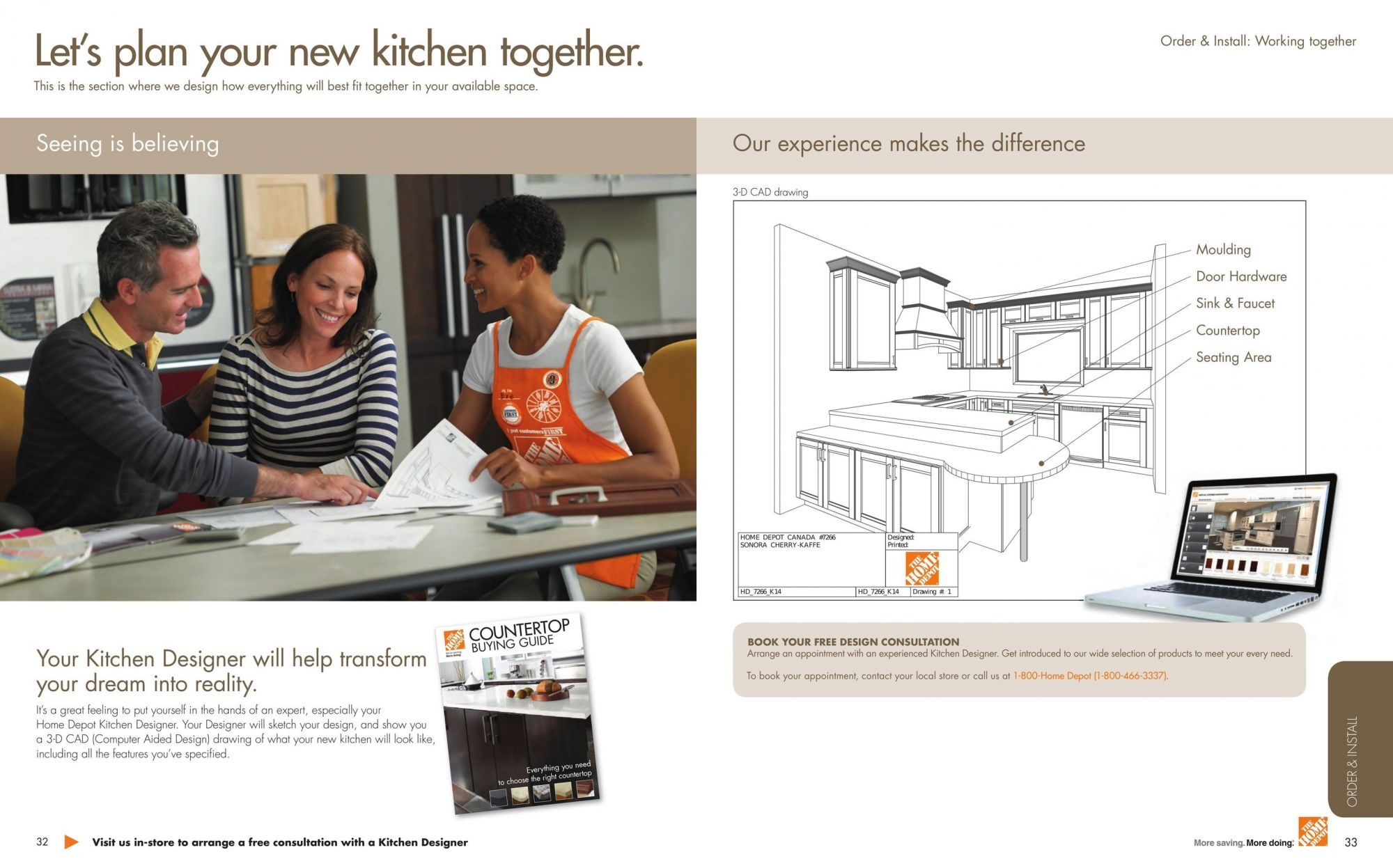 Flyer Home Depot Kitchen Planning Guide Canada From Tuesday April 24 2018 To Monday December 31 2018 Home Depot Home Depot Kitchen Kitchen Plans