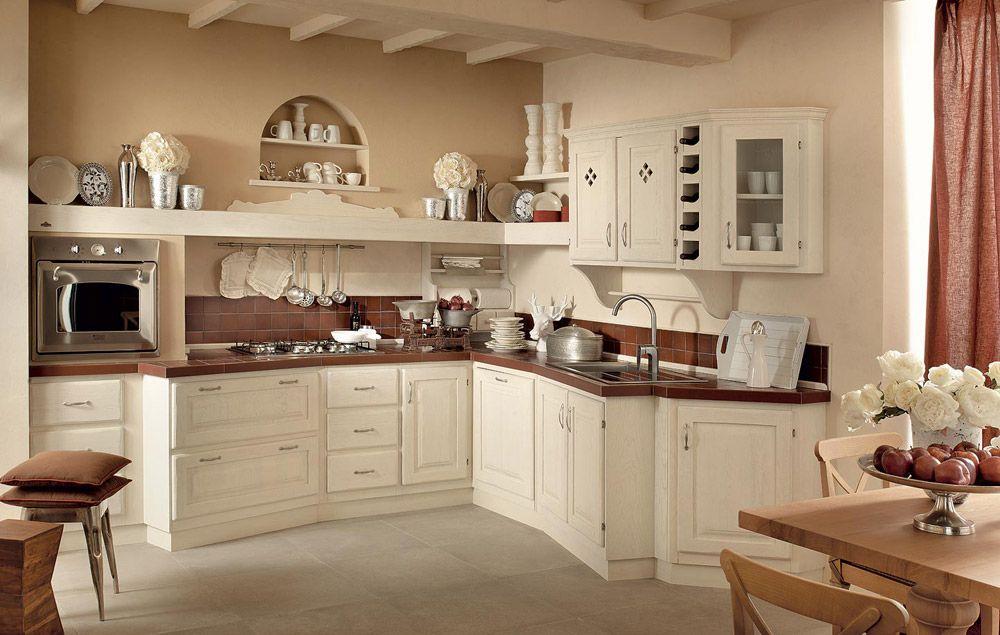 cucina muratura shabby chic Cerca con Google Cucina in