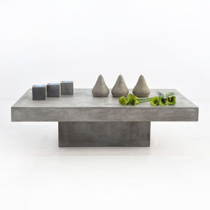 Our new Blok Concrete rectangular Coffee Table just ...