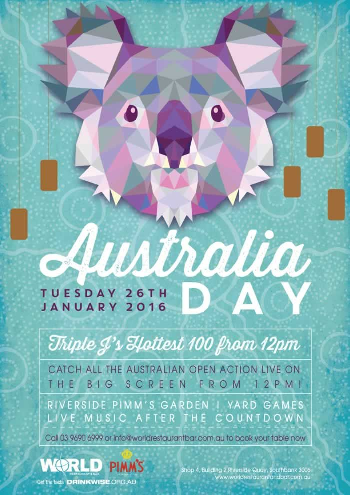 Image result for australia day festival poster | Event Poster Design ...