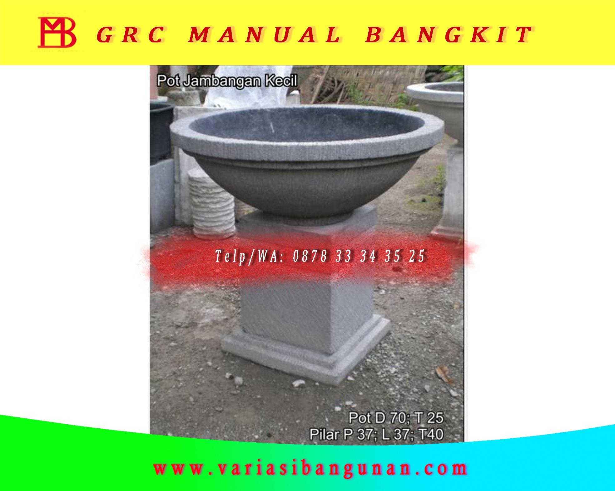 Pot Bunga Teratai Pot Tembikar Pot Beton Tembikar