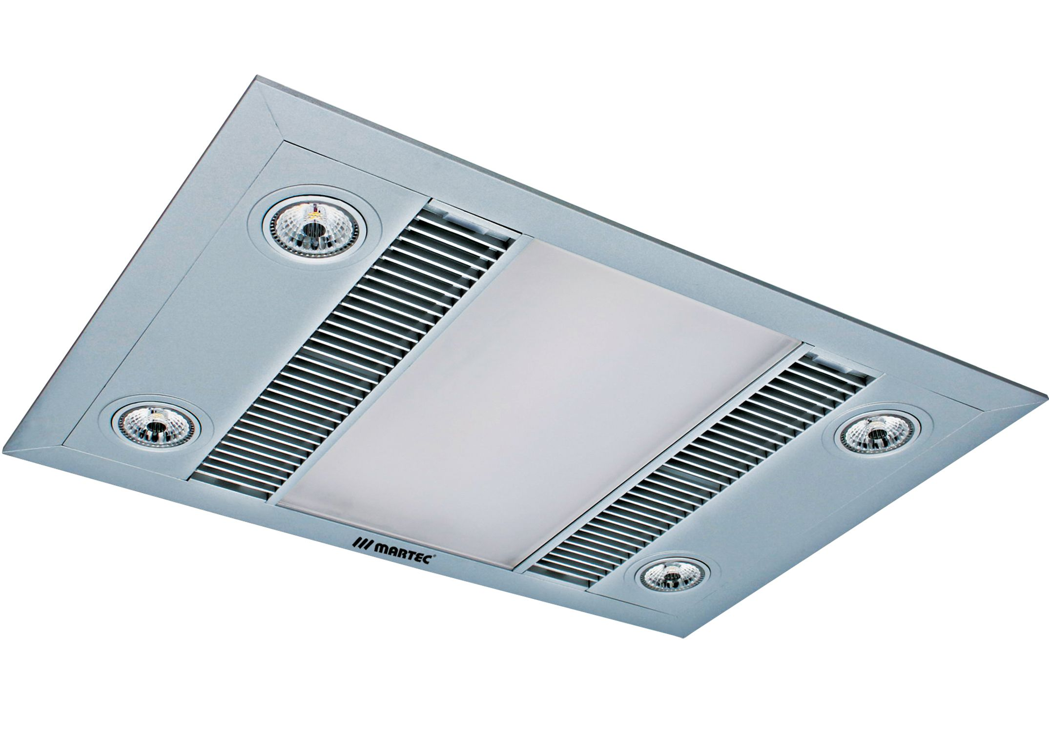 Linear 3 in 1 Bathroom Heater With Exhaust Fan And LED
