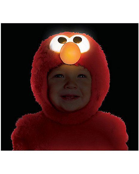 Sesame Street Elmo Light-Up Toddler Costume - Spirithalloween.com