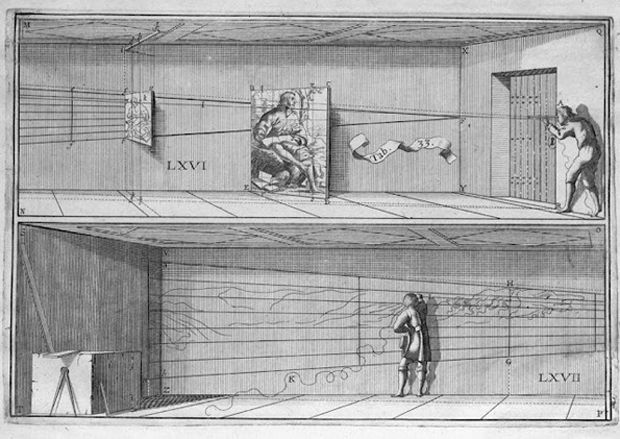 Short lesson on perspective. The man who influenced art history - Jean François Niceron was the genius of perspective.