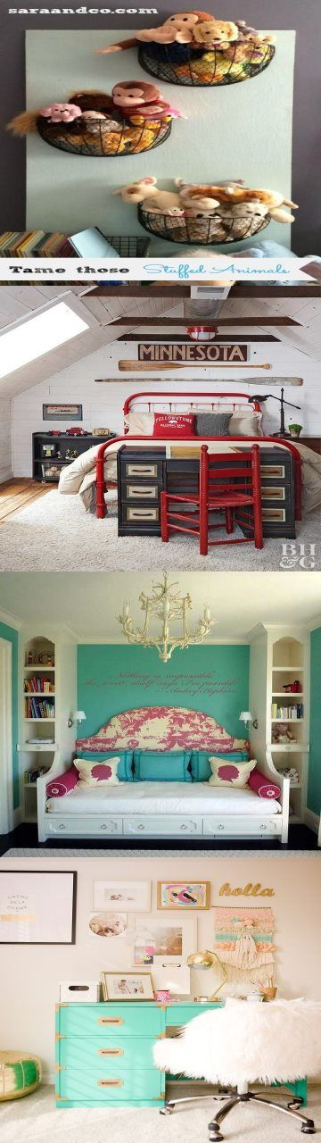 Photo of Stuffed animal storage and organization ideas Adventures await in this bedroom o…