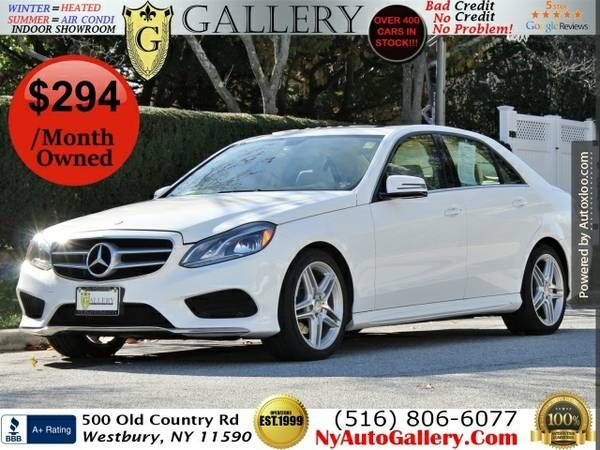 2014 Mercedes-benz E-class E350 Sport 4matic Easy Finance | Car ...