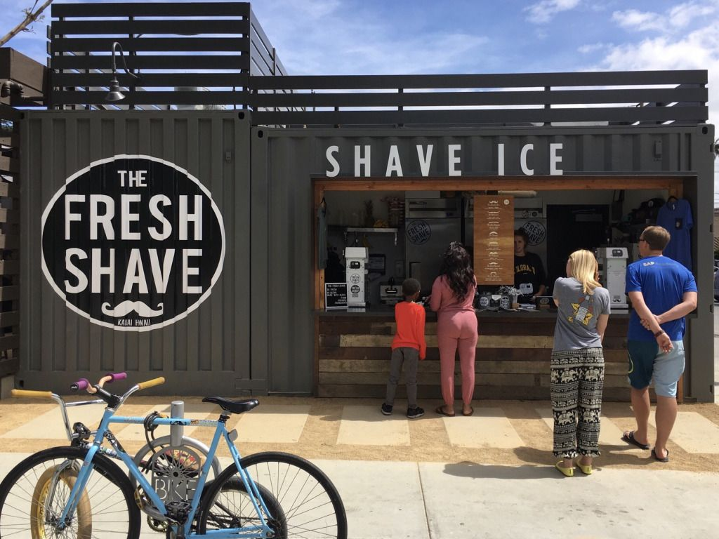 Now Open The Fresh Shave In Long Beach Architectural House Plans Container House Design Small Buildings