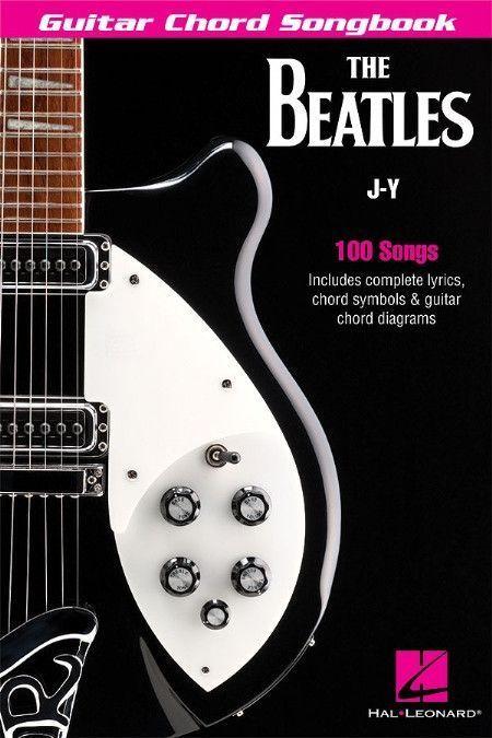 The Beatles Guitar Chord Songbook Music Pinterest Beatles