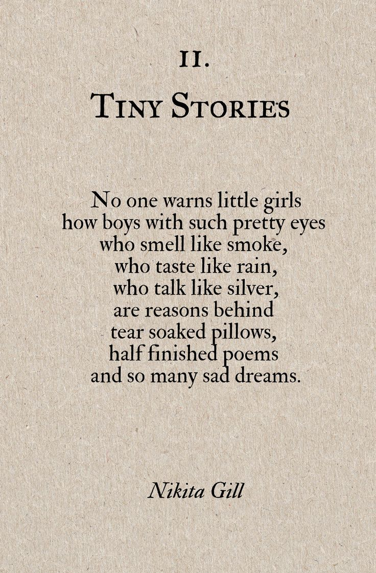 Poem Quotes About Life Tiny Storiesnikita Gill  Google Search  Poems  Pinterest