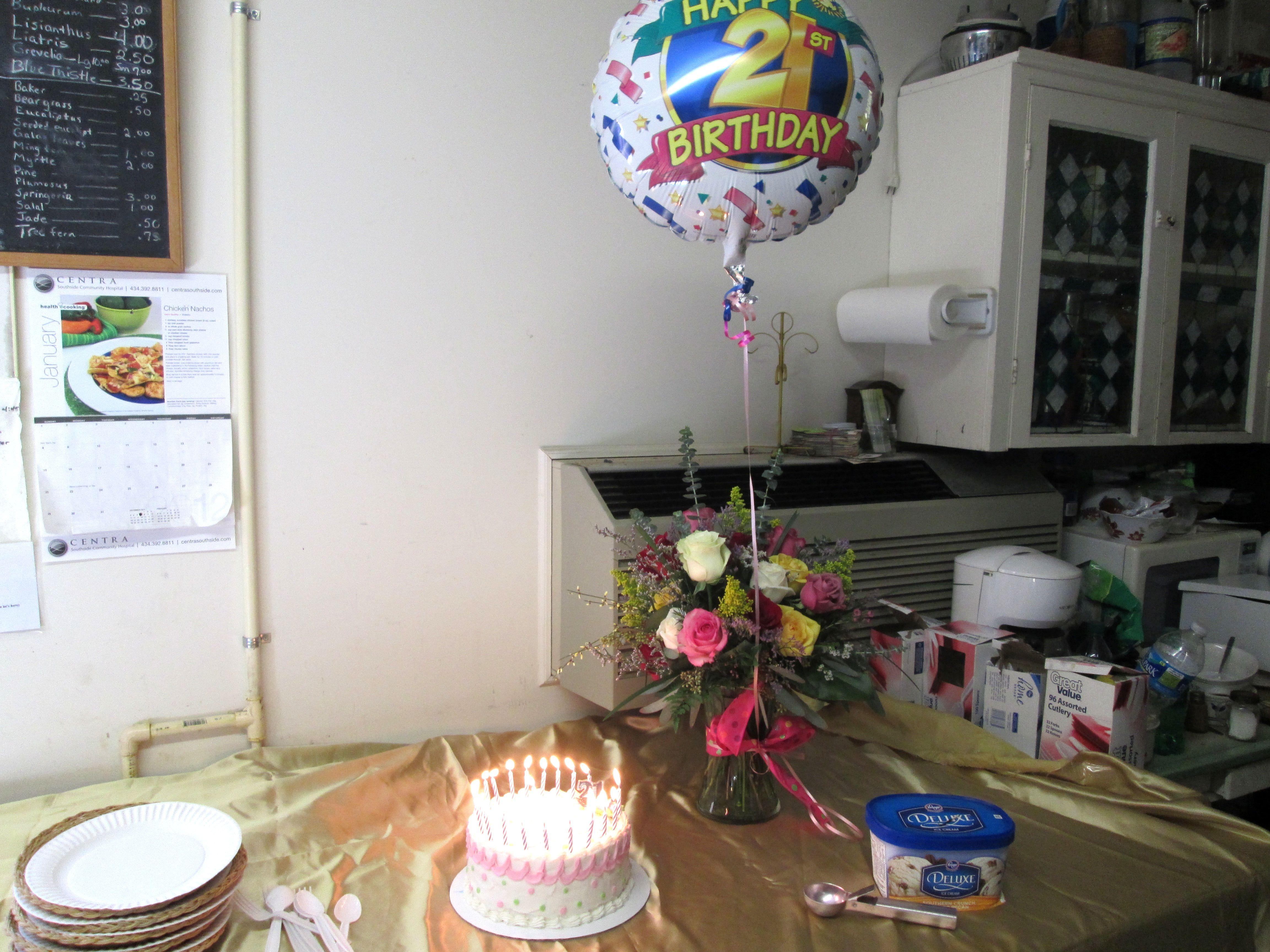 Ashley's 21st birthday celebration!
