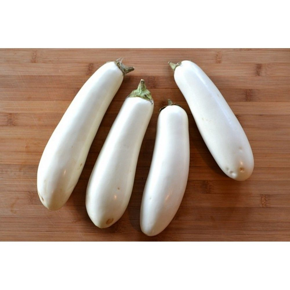 White Eggplant Seeds 1 85 White Eggplant Seeds Price For Package Of 10 Seeds White Skinned Eggplant That Produces Earl White Eggplant Eggplant Seeds Eggplant