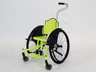 Hoggi Cleo (handbewogen peuter rolstoel, Manual Toddler Wheelchair)