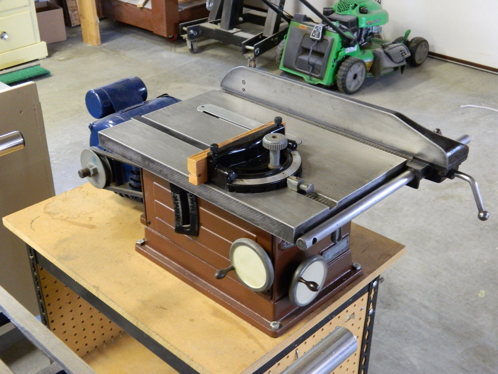 Restored Craftsman Table Saw …