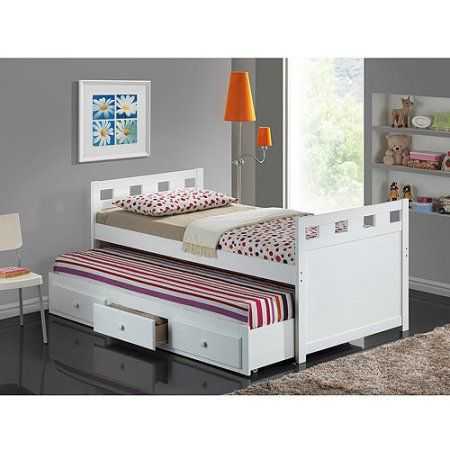 Broyhill Kids Breckenridge Captain S Bed With Trundle And Drawers White