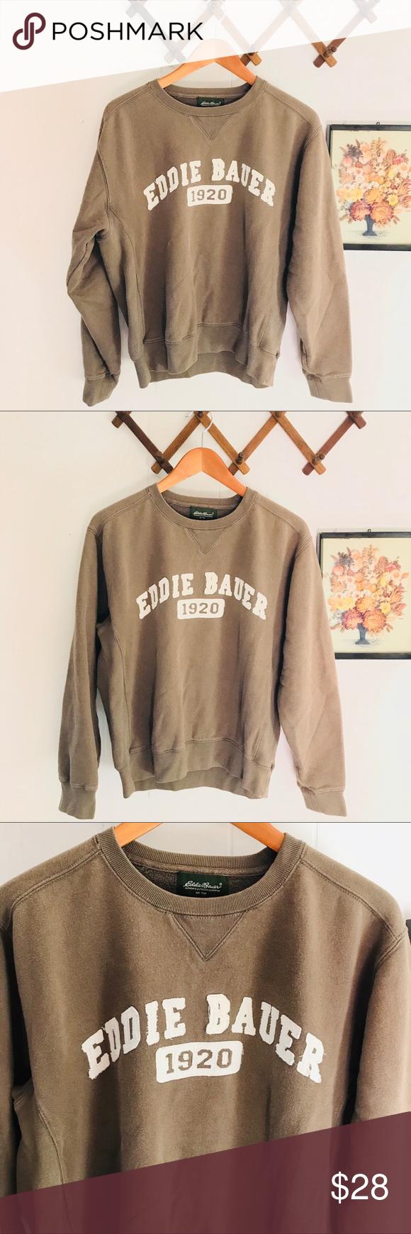 Eddie Bauer Vintage Crewneck Cotton Sweatshirt Vintage Crewneck Cotton Sweatshirts Sweatshirts [ 1740 x 580 Pixel ]