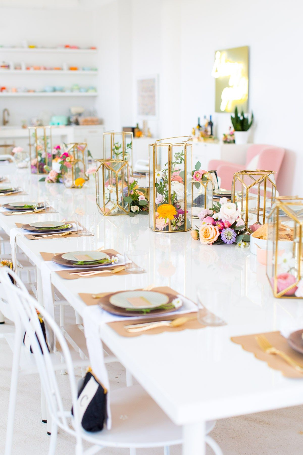 garden flower bridal shower by top houston lifestyle blogger ashley rose of sugar and cloth