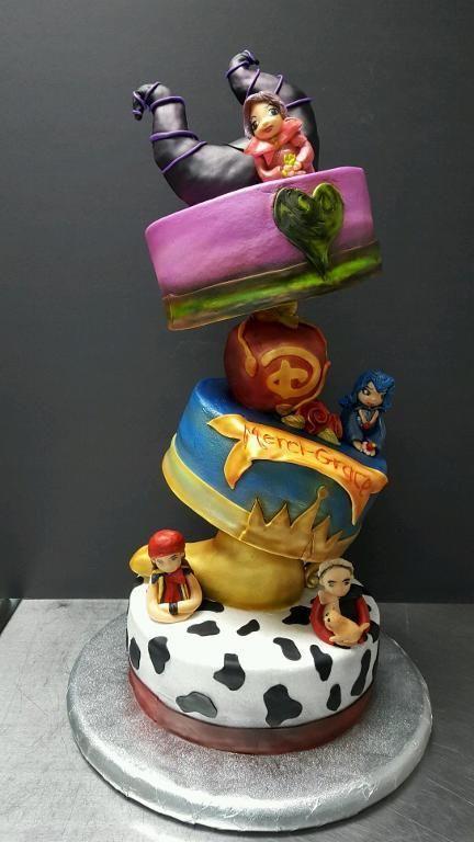Disney Descendants Cake Google Search Descendants