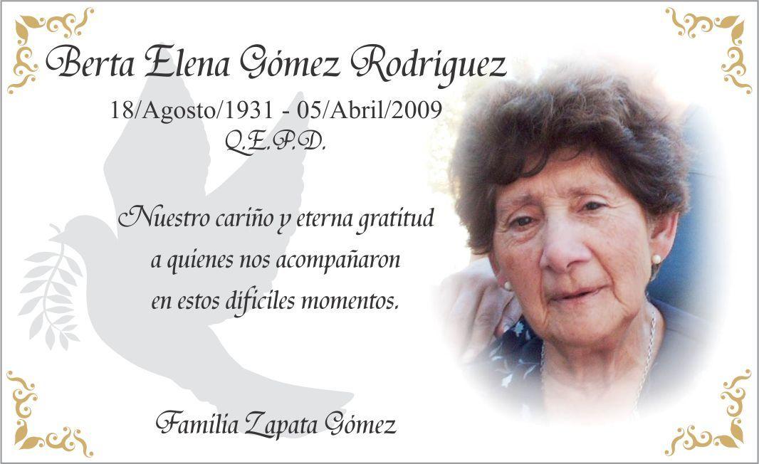 Frases De Aniversario En Espanol: Tarjetas De Agradecimiento De Condolencia, Defuncion