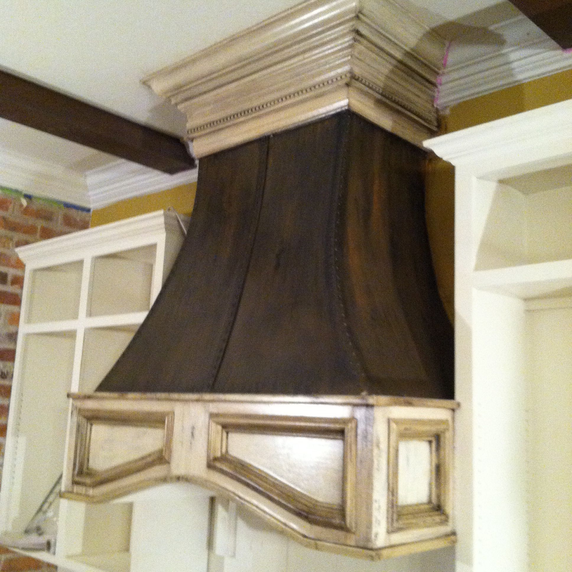 sheetrock and mdf painted hood vent kitchen style kitchen decor house on outdoor kitchen vent hood ideas id=26586