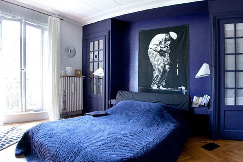 Peinture Bleu Chambre | Peinture Chambre Bébé Non Toxique Leroy ...