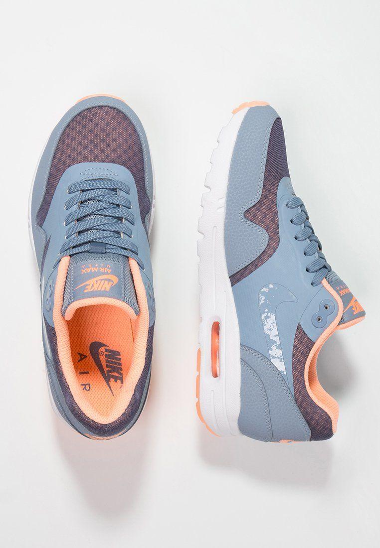 Nike Womens Air Max 1 Ultra Essentials Cool Blue Sunset Glow