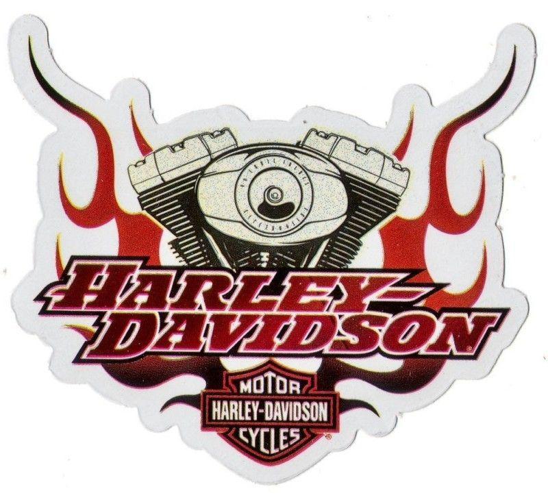 Harley Davidson Motorcycle Flames Logo Decal Stickers Harley Davidson Harley Harley Davidson Motorcycle