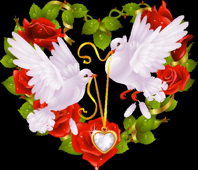 Хомяком, символ любви открытки