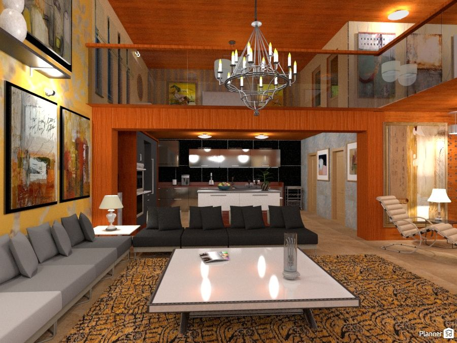 Pin by Planner 5D on Planner 5D designs living rooms Pinterest