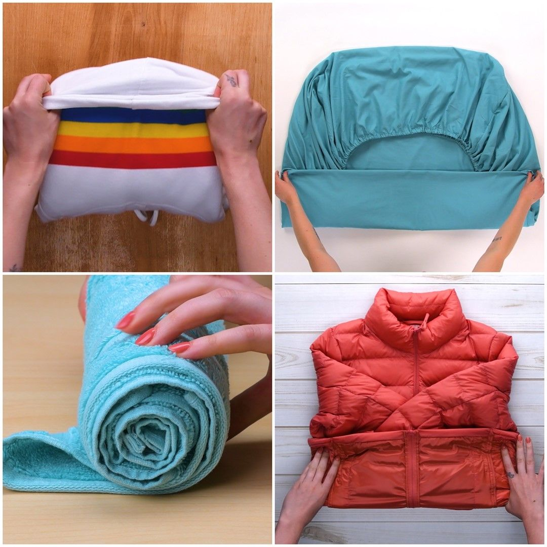 Fold up! And watch these clever folding hacks!