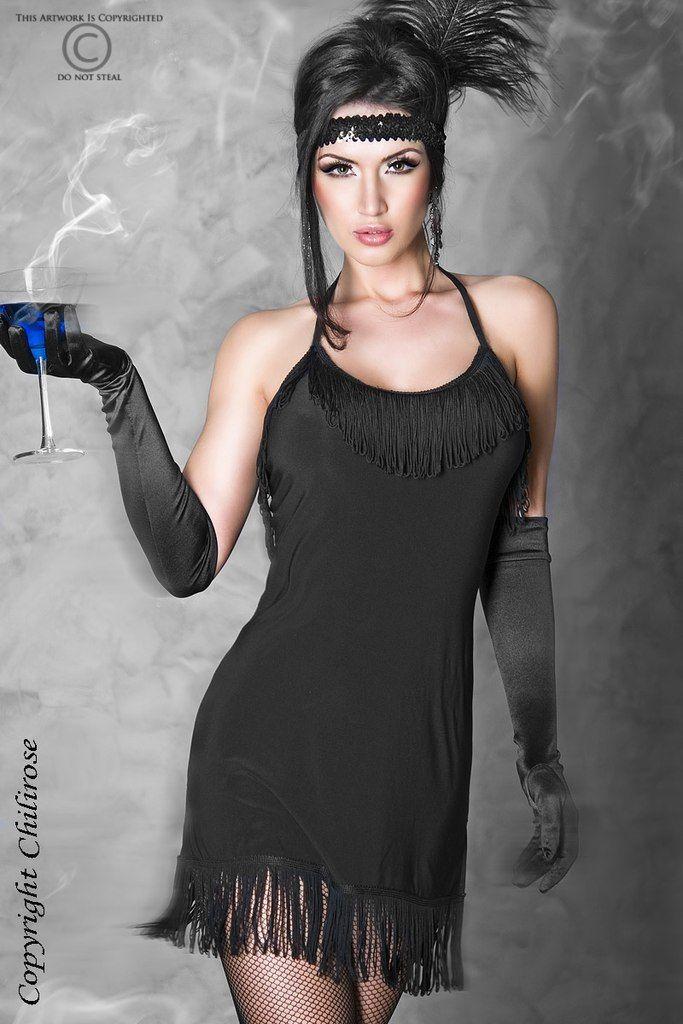 платье в стиле казино