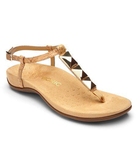 64277fe991cb Vionic Gold Cork Nala Sandal - Women