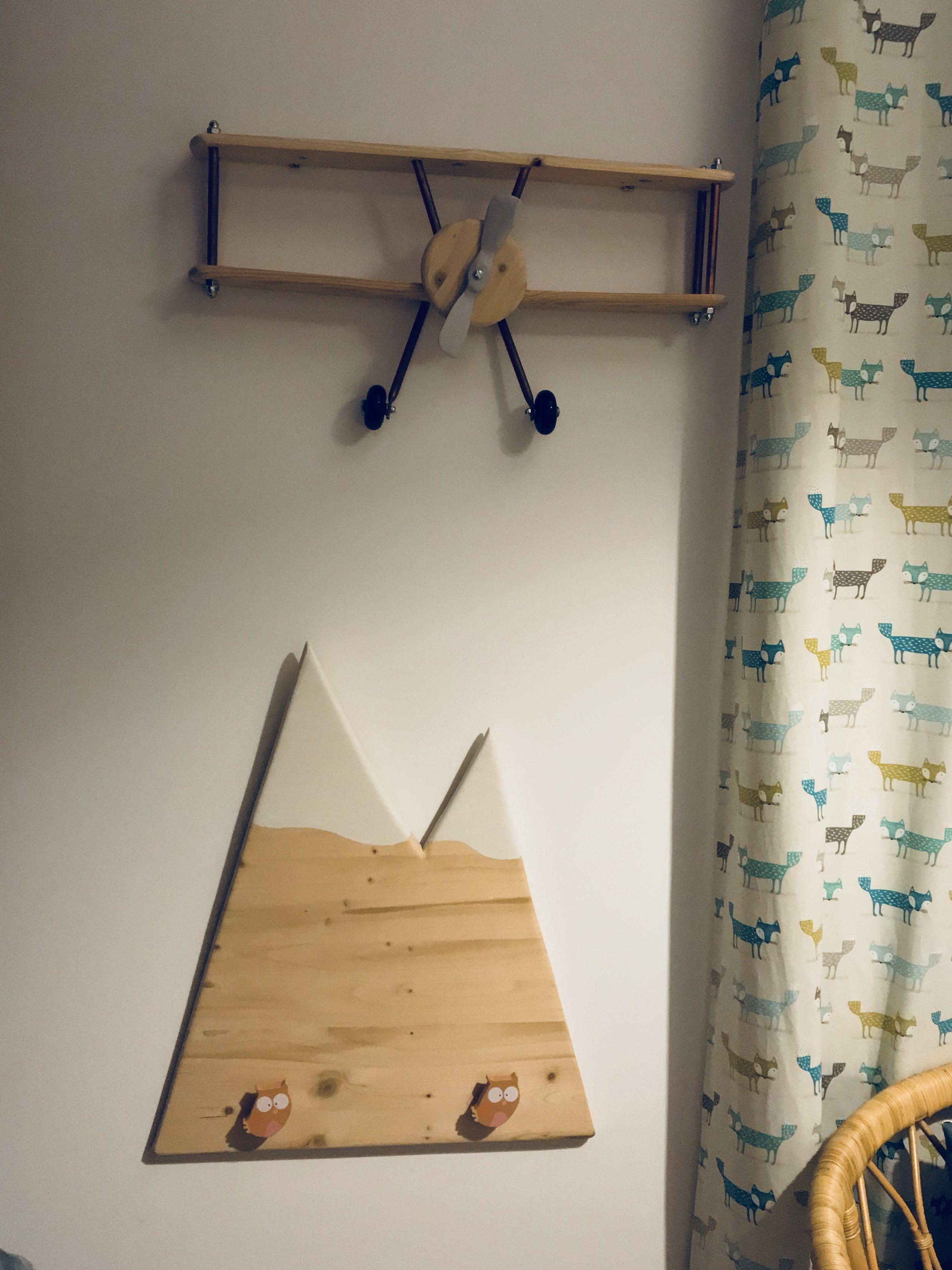 Deco chambre enfant montagne avion ✈️🏔  Deco chambre enfant