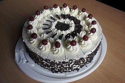 Schwarzwälder Kirschtorte – super easy von alina1st | Chefkoch – Kuchen und Torten