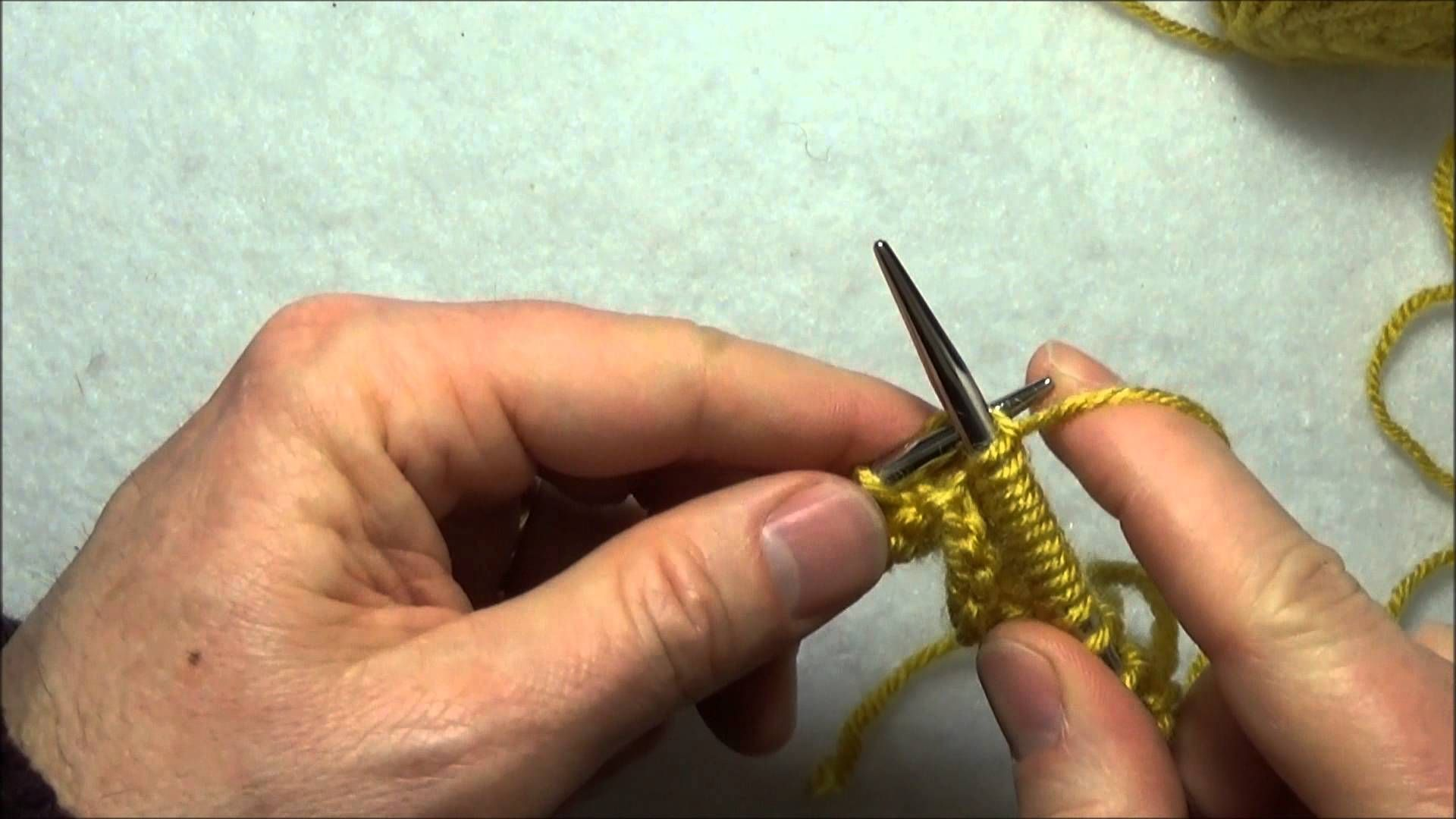 Comment Tricoter Le Motif En Eventail Knitting Stitches Tricot Crochet Knitting