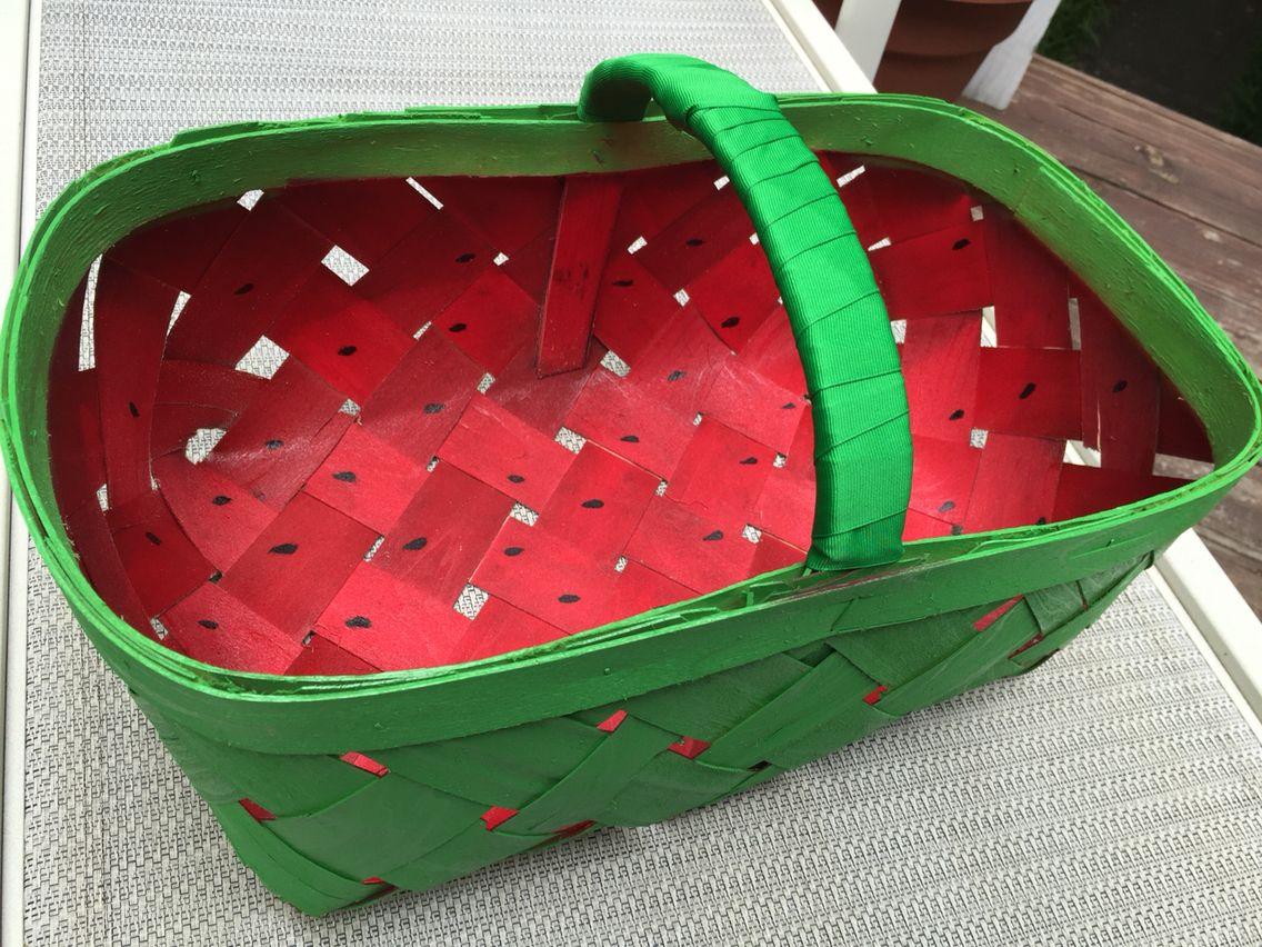 Farmers market basket makeover with images basket