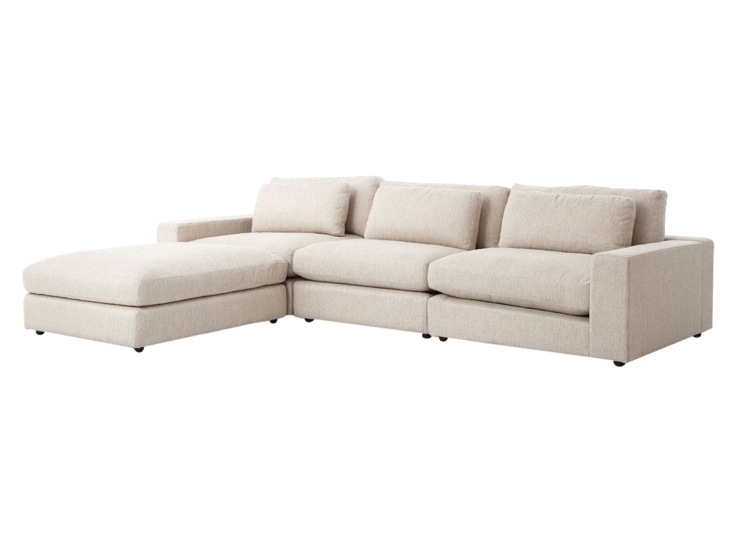 Low Profile Sectional Sofa By English Country Home Sectional