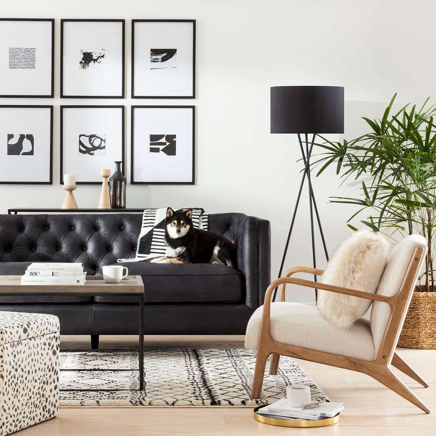 Shop Target For Living Room Furniture You Will Love At Great Low Prices Spend 35 Or Use Your In 2020 Black Couch Living Room Couches Living Room Trendy Living Rooms #target #living #room #sets