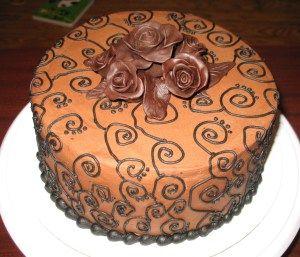 Chocolate Swirl Cake Cake Decorating Pinterest Cake Wilton