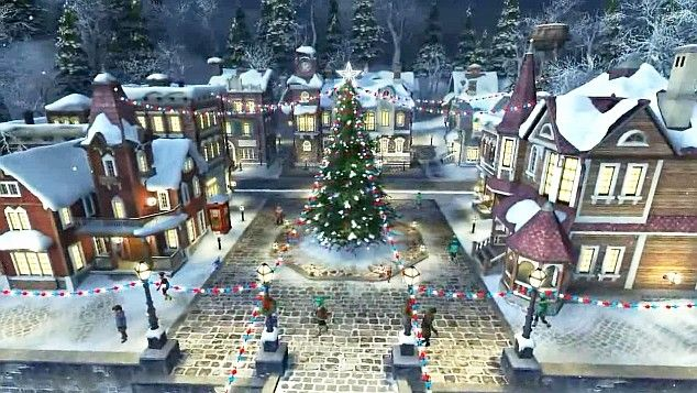 visit - Animated Christmas Village