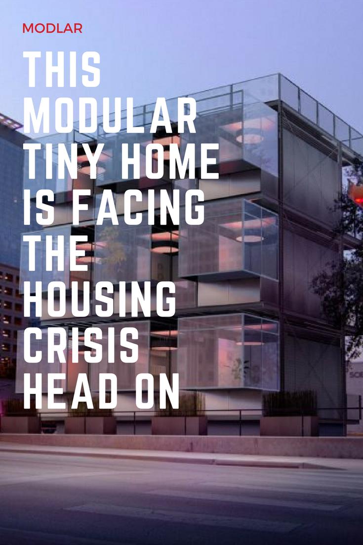 This Modular Tiny Home Is Facing The Housing Crisis Head On Modlar Com Modular Homes Modular Tiny House
